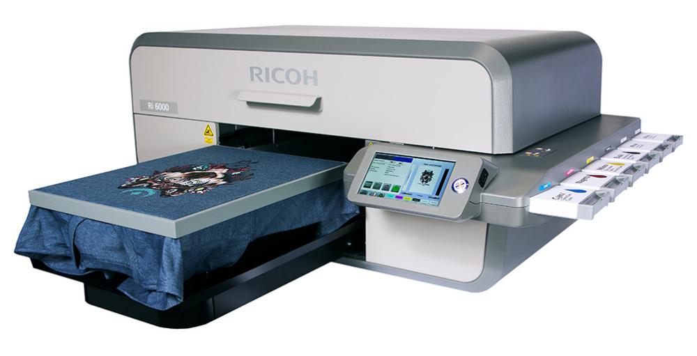 00ee7a1c39865 Impresión directa Textil Ricoh RI 6000